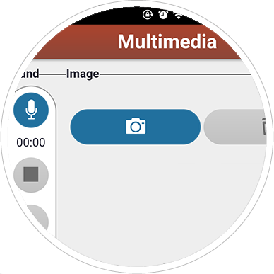 Multimedia-files-mobile-app